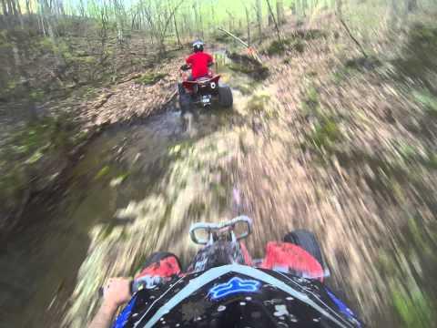 Trx450r fast trail riding