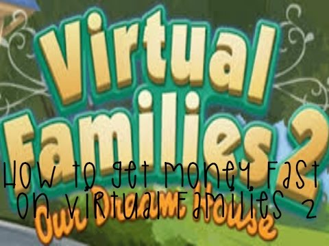How To: Get Money Fast on Virtual Families 2! || McNekko