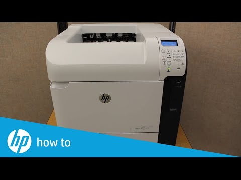 Removing and Replacing the Fuser Assembly on the HP LaserJet M601, M602, and M603 Printers