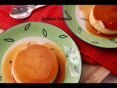 Caramel pudding/Easy caramel pudding/Sivakasi Samayal / Recipe - 505