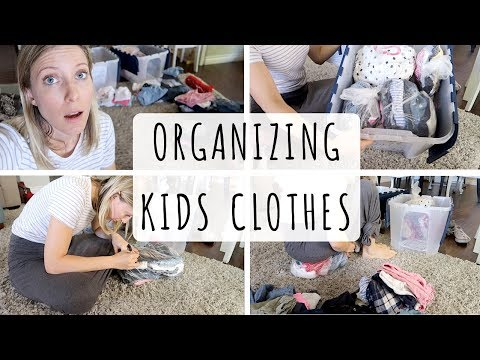 ORGANIZING BABY CLOTHES