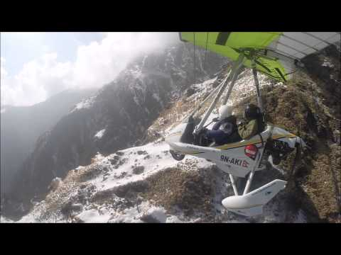 Pokhara Ultralight flight to Annapurna region (Nepal)