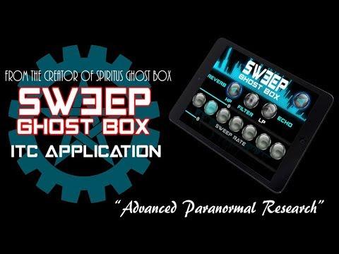 NEW Sweep Ghost Box app