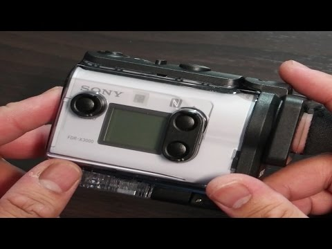 Sony Action Cam FDR-X3000: Unbox & 4K Video Test [Indoor, Outdoor Day/Night, OIS]