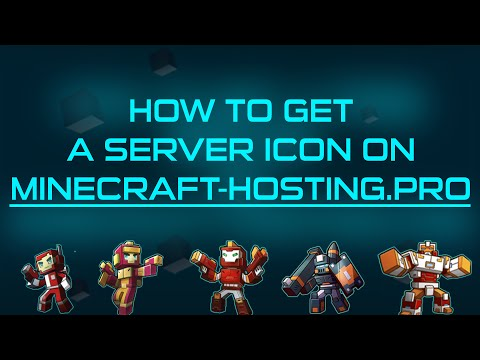 How to get a server icon on Minecraft-Hosting.pro