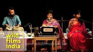 """Eso Shyamala Sundara"" - Rabindra Sangeet at Azad Bhavan, ICCR"