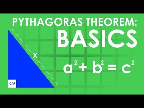 Maths Made Easy! Pythagoras theorem: Basics [O&U Learn]