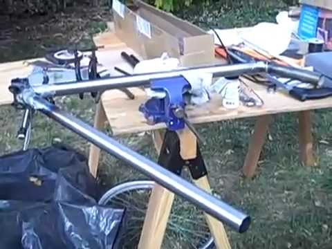 lugged bicycle frame construction part 1/3