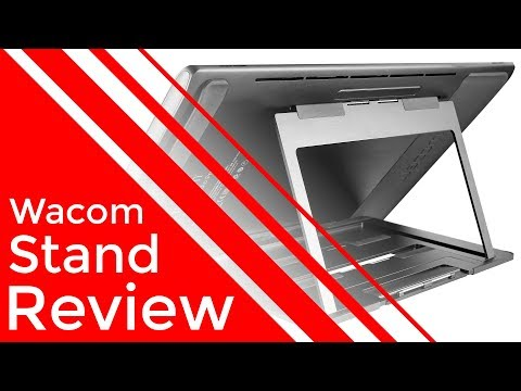 Wacom Stand Unboxing & Review