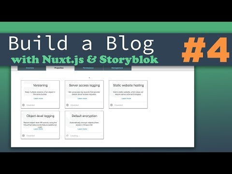 Final Touches & Deploying the Blog | Nuxt.js & Storyblok - Building a Complete Blog