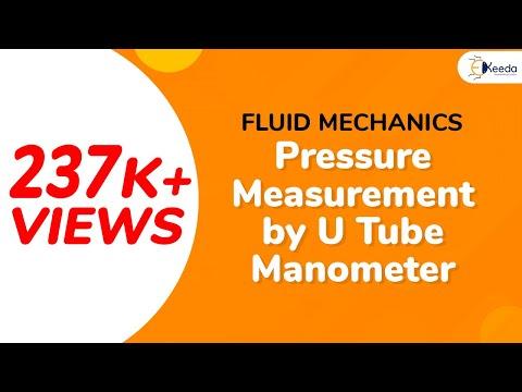 Pressure Measurement by U-tube Manometer