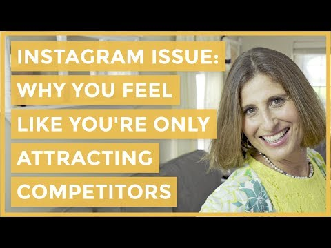 Instagram Issue: Why You Feel Like You're Only Attracting Competitors