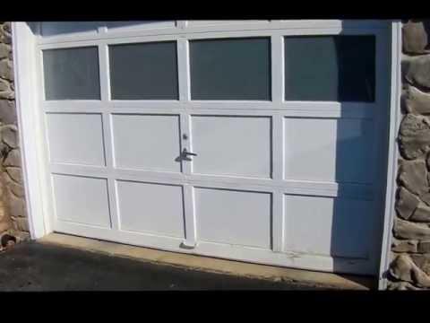 Replacing  bottom pannol on Garage Door