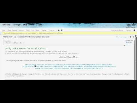 how to add email address to hotmail
