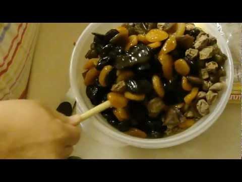Prune Mui (a yummy local snack)