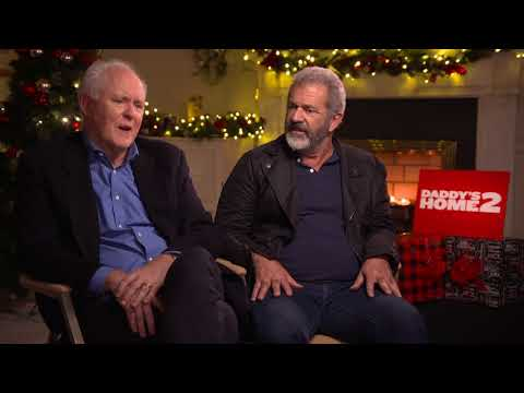 John Lithgow & Mel Gibson Daddy's Home 2