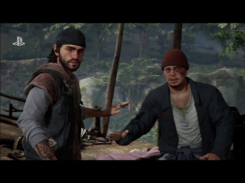 Days Gone E3 4K Gameplay Trailer - E3 2017: Sony Conference