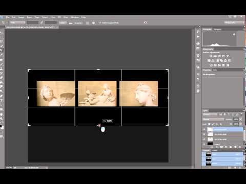 How to make a Triptych in Photoshop