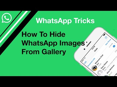 Hide WatsApp Images from gallery | WhatsApp Tricks
