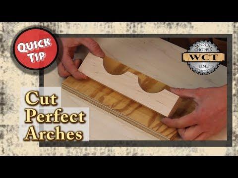 Cut the Perfect Arch- Quick Tip
