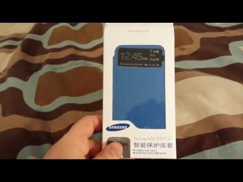 Samsung Galaxy S4 S-View Flip Cover From ebay
