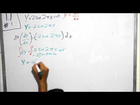 Chapter 1.1 Problem 1 (Advanced Engineering Mathematics)