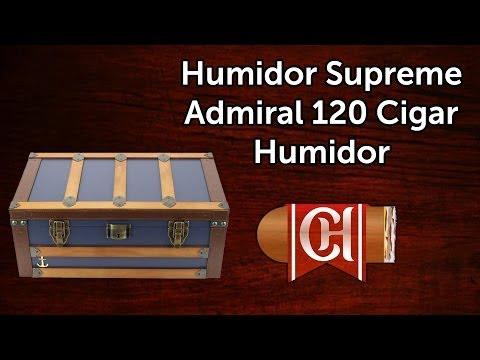 Humidor Supreme Admiral 120 Cigar Humidor