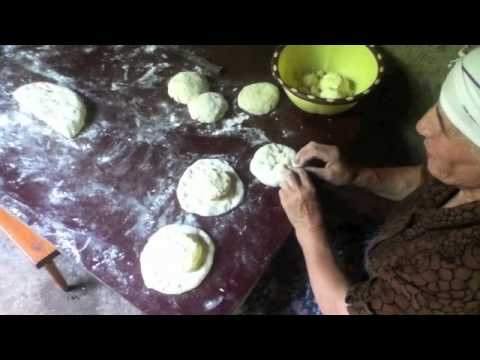 Georgian Village Life - how to make bread