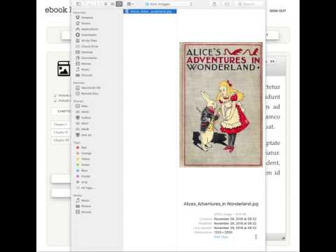 How to add a cover pager to your ebook (epub and mobi) with ebook leap