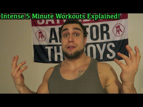 How to Program the Intense 5 Minute Workouts | Sets, Reps, Times per Week