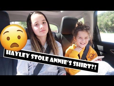 Hayley Stole Annie's Shirt?! 😧 (WK 376.6)   Bratayley