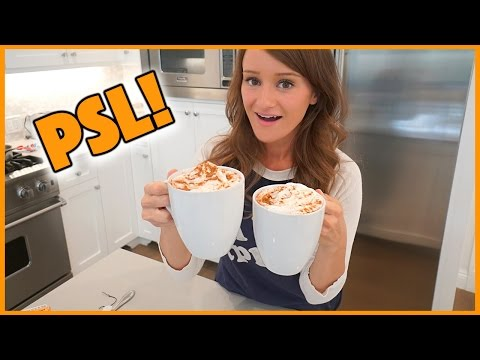 How To Make a PUMPKIN SPICE LATTE!