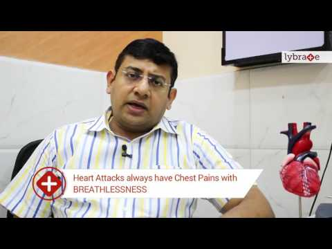 Lybrate | Dr Hanish Gupta Talks About Difference Between Chest Pain & Heart Attack