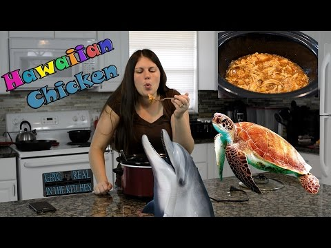 Hawaiian Shredded Crock Pot Chicken I Episode 54