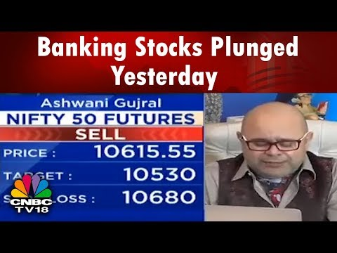 Banking Stocks Plunged Yesterday | Today's Trading Calls By Ashwani Gujral | CNBC TV18