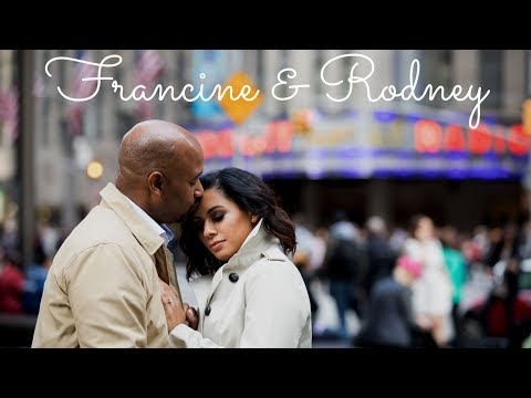 New York City Times Square Wedding and Engagement [Francine & Rodney]