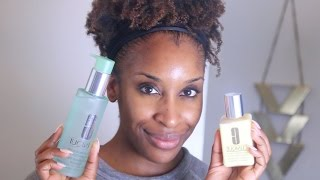 How to Remove Your Makeup + Skincare Tips with Clinique!   Jackie Aina