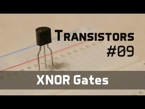 XNOR Gates - Transistors 09