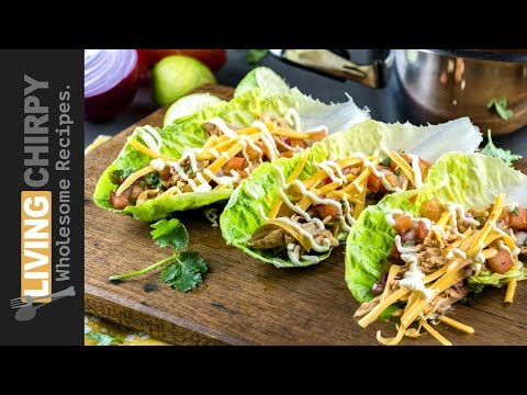 How To Make Low Carb Shredded Chicken Tacos