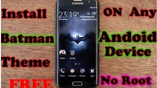 BATMAN Injustice Theme For SAMSUNG galaxy j5 , j3 ,j2    and