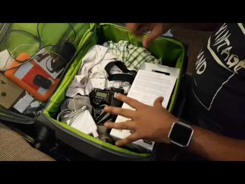 Hindi | Carry All Gadgets in One Baggage For Air Travel