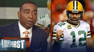 Cris Carter on expectations for Rodgers, Packers heading into the season | NFL | FIRST THINGS FIRST