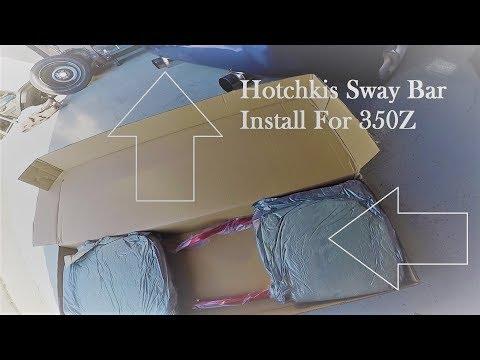 350Z Hotchkis Sway Bar Install Z33 350Z Sway Bar Install Episode 11