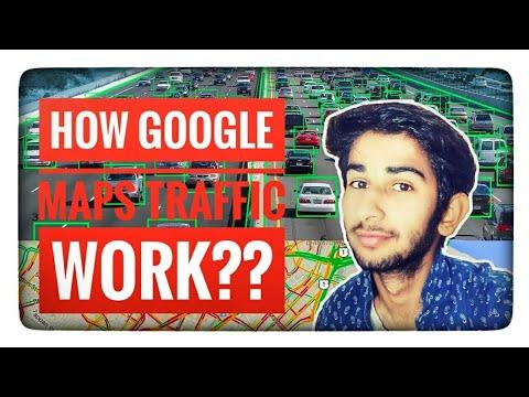 How Google Maps traffic Work ???