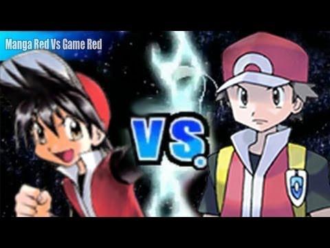 Pokemon Black and White 2 Wifi Battle - Manga Red Vs Game Red