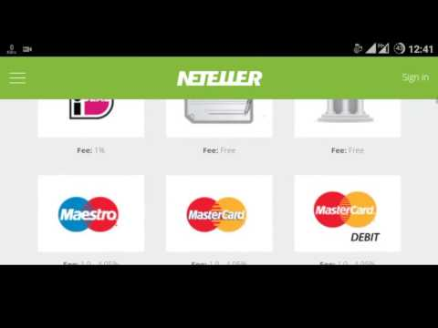 Neteller MasterCard FREE, Money in and Out