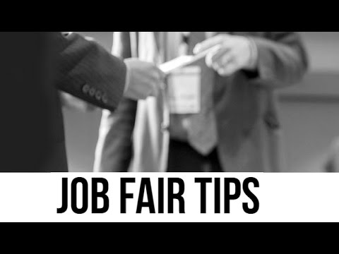 Job Fair Tips from The Rehancement Group