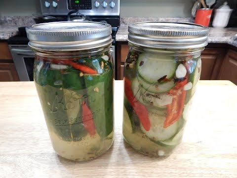 How To Make Dill Pickles - Spicy Pickle Recipe