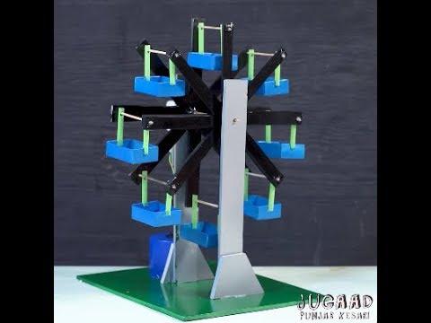 DIY Ferris Wheel From Cardboard