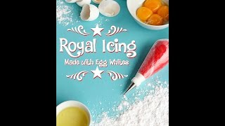 Royal Icing Made With Egg Whites Via Www Thebearfootbaker Com